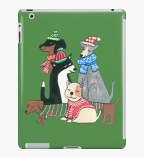 Cute Christmas Dogs iPad Case/Skin