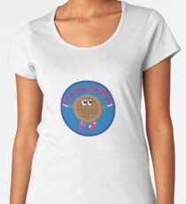 Charlie Waffles! Women's Premium T-Shirt