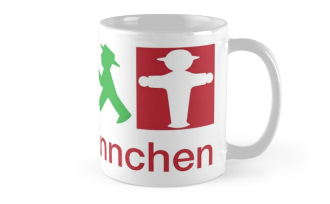 ampelm nnchen mugs by s2ray redbubble. Black Bedroom Furniture Sets. Home Design Ideas