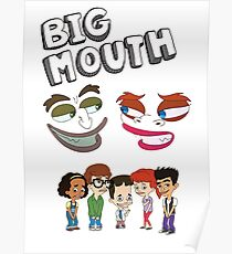 Big Mouth Monsters Poster