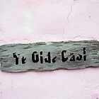 Ye Olde Gaol Sign, Green Turtle Cay, Bahamas by Catherine Sherman