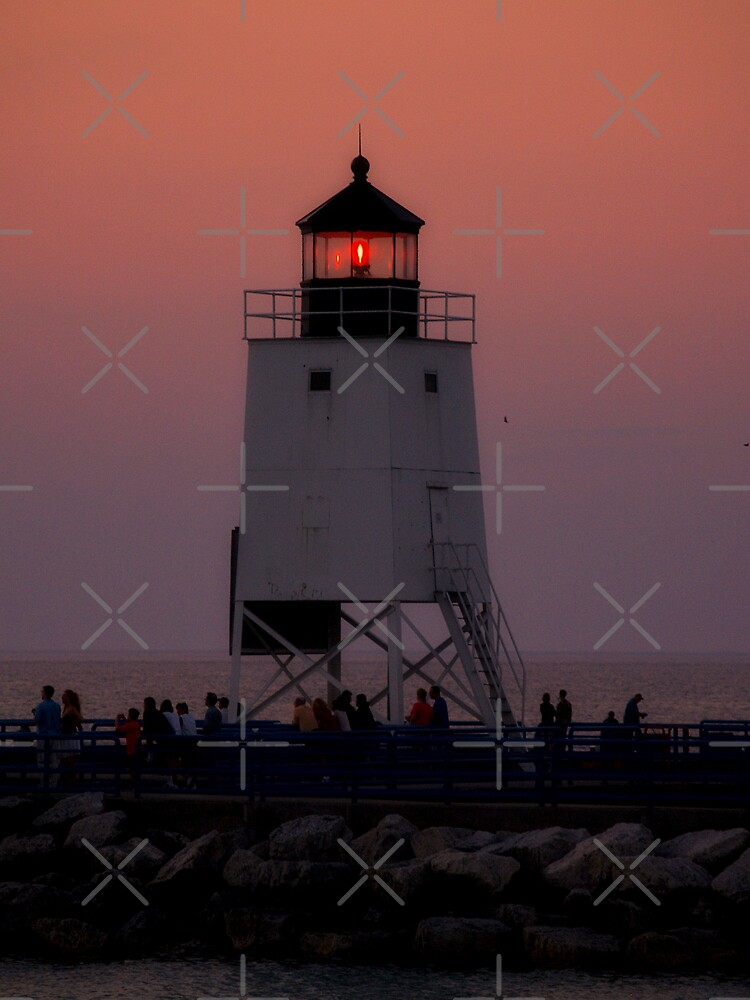 Charlevoix Lighthouse II by Megan Noble