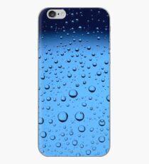 Blue Water Bubbles iPhone Case