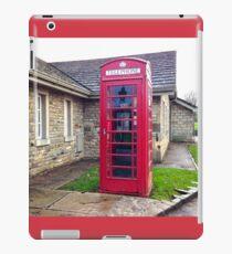 UK Telephone Booth iPad Case/Skin