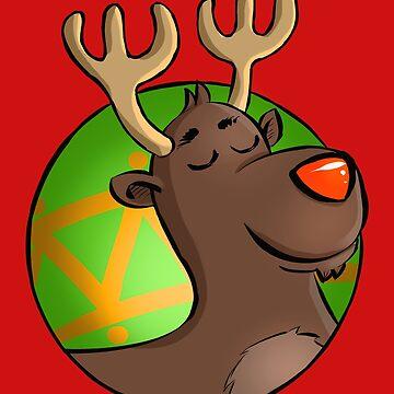 """Rudolph"" by MoonpixStudios"