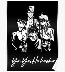 Yu Yu Hakusho Gruppe Poster