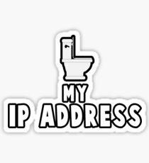 MY IP ADDRESS Sticker