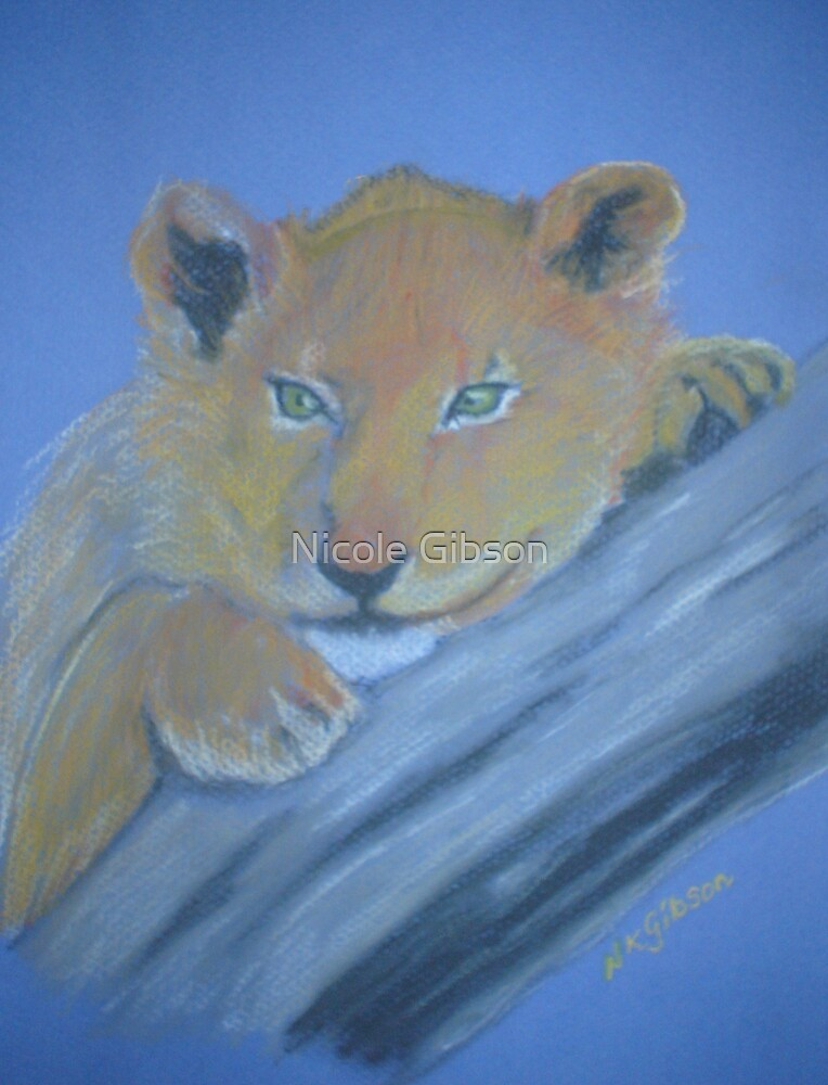 Lion Cub by Nicole Gibson