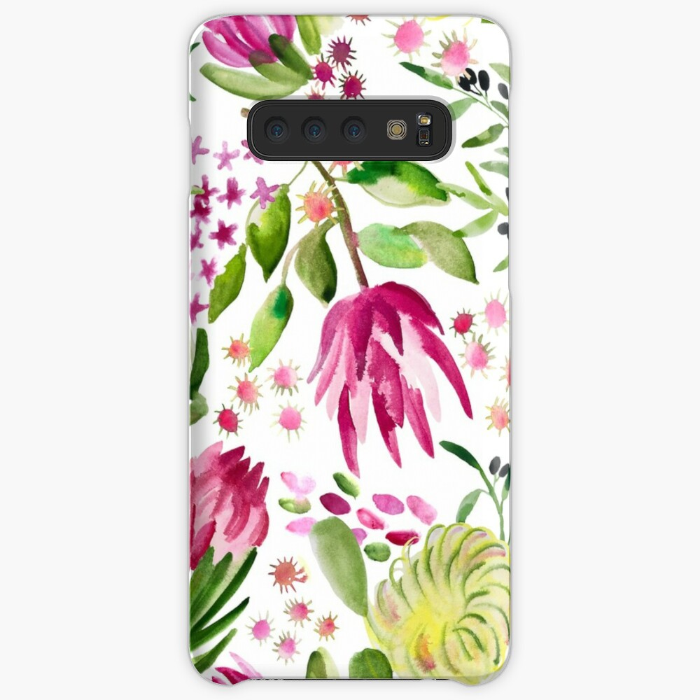 Protea Bloom Floral Case & Skin for Samsung Galaxy