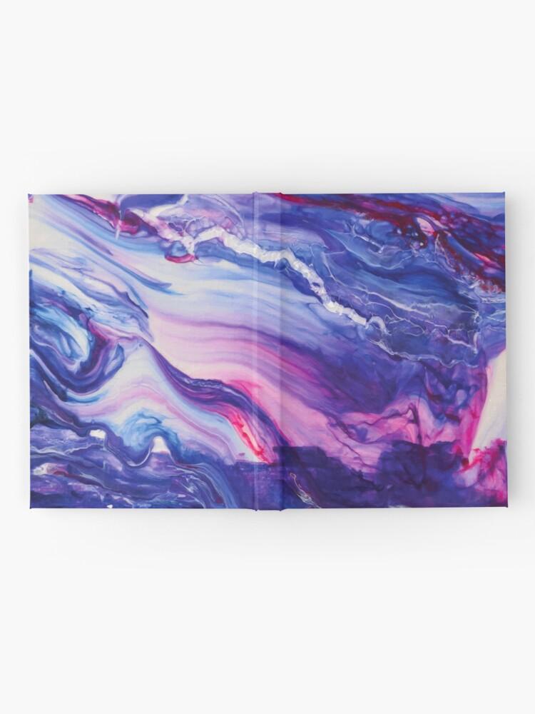 Alternate view of Tranquil Swirls Hybrid Painting Hardcover Journal