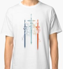Kirito and Asuna form Sword Art Online Classic T-Shirt