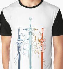 Camiseta gráfica Kirito y Asuna forman Sword Art Online