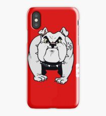Dog Lover Yes He Bites Canine K-9 Pet Fun Funny iPhone Case/Skin