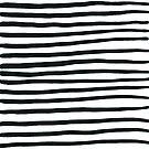 Stripey Black and White Stripes by LIMEZINNIASDES