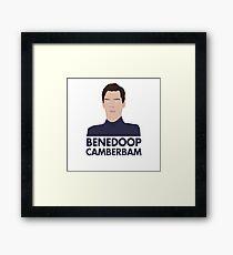Benedoop Camberbam Framed Print