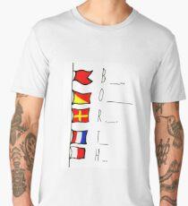 Borth flags Men's Premium T-Shirt