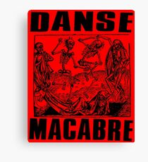 DANSE MACABRE-2 Canvas Print