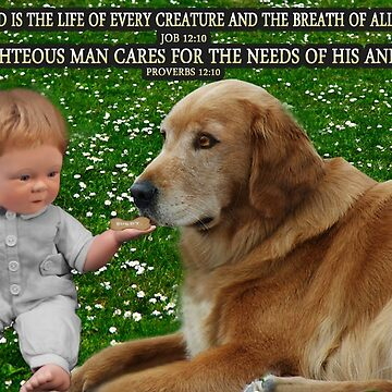 (✿◠‿◠) IN HIS HANDS.THE LOVE OF A DOG.. WITH (BIBLICAL SCRIPTURE) (✿◠‿◠) by Rapture777