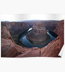 Horseshoe band panorama - natural wonder Poster