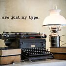 You are just my type by Bonnie T.  Barry