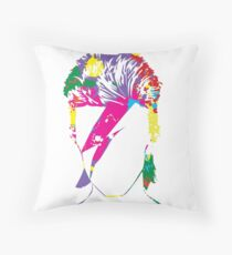 Inspired by David Bowie Throw Pillow
