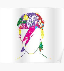 Inspired by David Bowie Poster