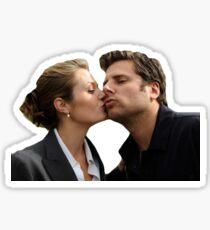 Shawn and Juliet - Psych Sticker