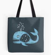 Galaxy Whale Tote Bag
