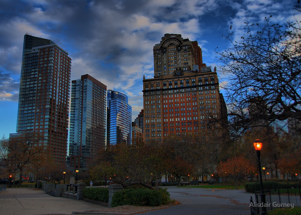 Manhattan at Dawn by Alisdair Gurney
