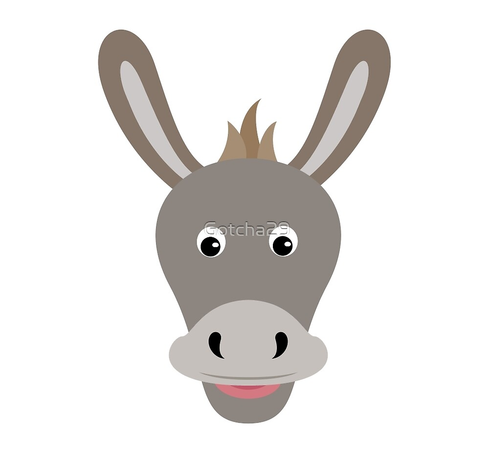 Funny Donkey Cartoon Faces Free Vector Art - (29245 Free ...