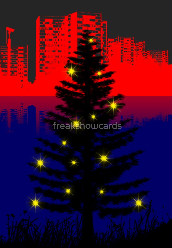 Christmas City by freakshowcards
