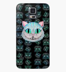 Cheshire Cat (Dark background) Case/Skin for Samsung Galaxy