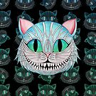 Cheshire Cat (Dark background) by studinano