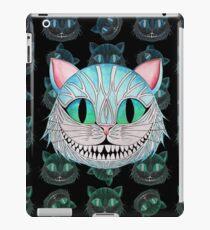 Cheshire Cat (Dark background) iPad Case/Skin
