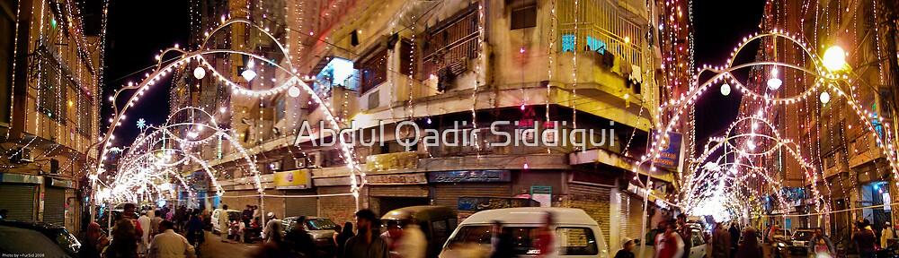 Karachi Night Life by Abdul Qadir Siddiqui