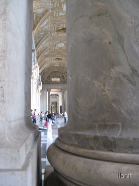 Images of Rome: Vatican from a narrow aspect by Ilanit