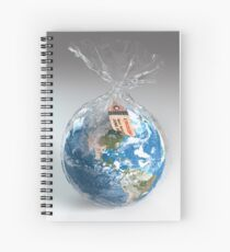 The Fragile Earth Spiral Notebook