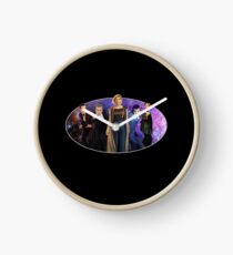 Five Modern Doctors - Including the 13th Doctor - Jodie Whittaker! Doctor Who Inspired Clock