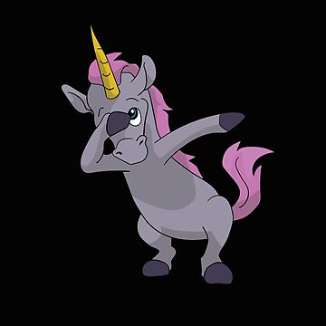 Unicorn Dabbing Design by kudostees