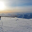 Creag Meagaidh Winter Panorama by ScotLandscapes