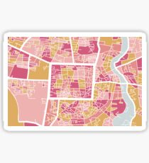 Chiang Mai map Sticker