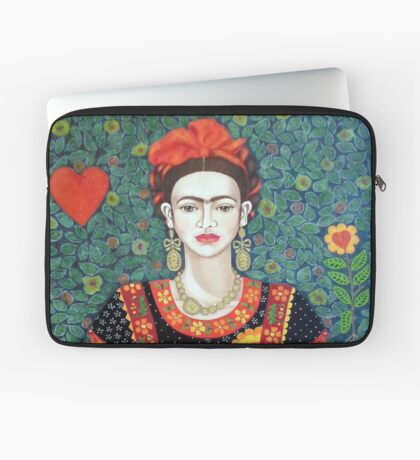 Frida, queen of Hearts Laptop Sleeve