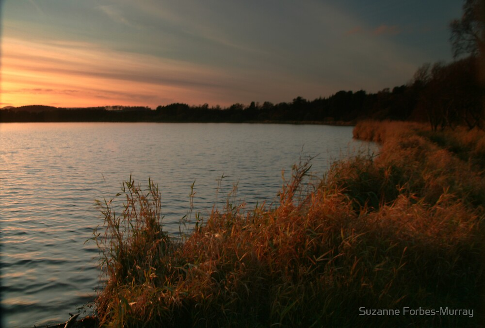 Loch Skene Sunset by Suzanne Forbes-Murray