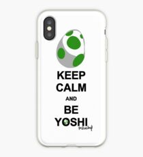 Keep calm and be Yoshi iPhone Case