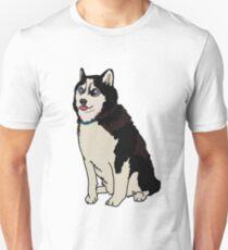 Staring Husky T-Shirt