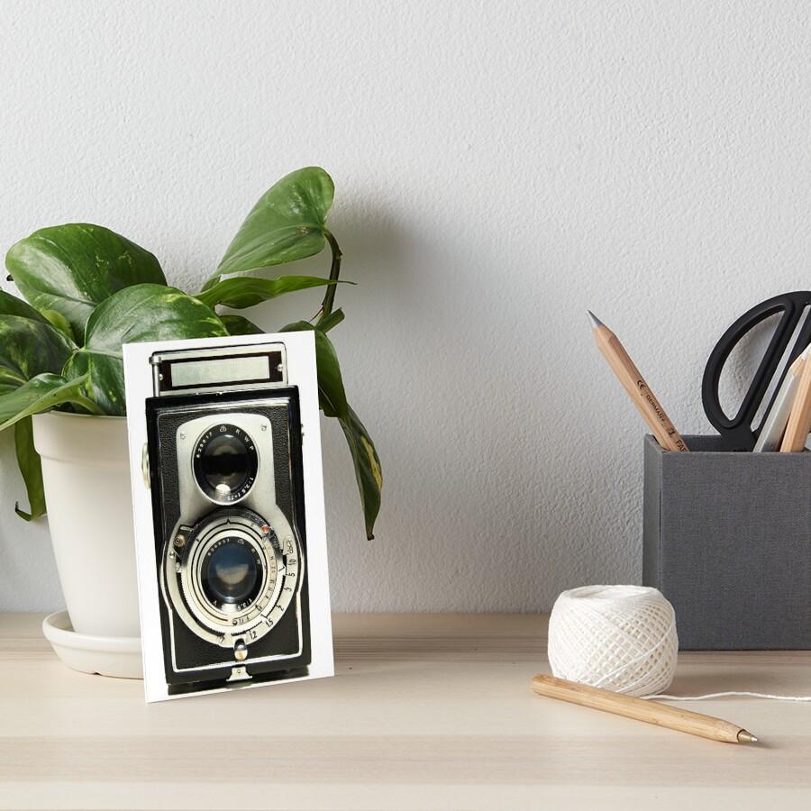 Retro-Kamera Galeriedruck
