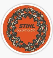 Stihl Oilomatic Chainsaw USA Sticker