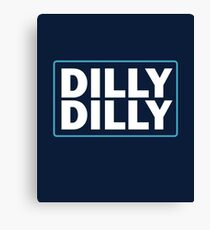 dilly dilly bud light  meaning christmas sweater ugly sweatshirt Canvas Print
