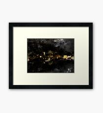 Bywater and the scouring of the Shire Framed Print