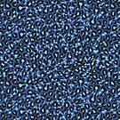 Leopard blue von LilaLotta